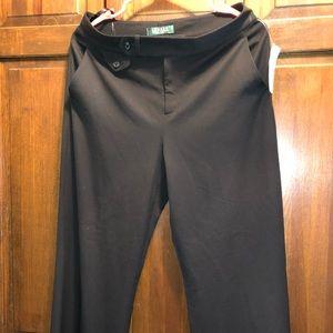 NWT Ralph Lauren Middleburg Black Pants, Size 6P